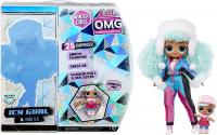 Игровой набор L.O.L. Surprise! O.M.G. Winter Chill Icy Gurl Fashion Doll & Brrr B.B. Doll, 570240